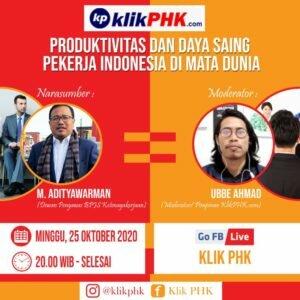 M Aditya Warman: Kita Harus Kejar Daya Saing Pekerja Indonesia