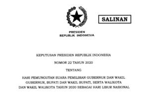 Pemerintah Tetapkan 9 Desember Sebagai Hari Libur Nasional