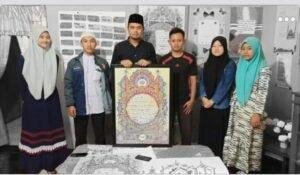 Anggota DPRD Sumut, Gusmiyadi Apresiasi Karya Seni Kaligrafi Hiasan Mushaf Pelajar Siantar