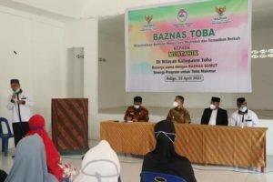 Baznas Toba: Bupati Toba Serahkan Bantuan Secara Simbolik kepada Mustahik