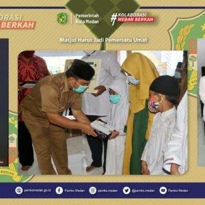 Safari Ramadhan Secara Virtual: Walikota Medan Lakukan Safari Ramadhan Secara Virtual di Masjid Al Basir Kelurahan Sei Sikambing, Medan Sunggal