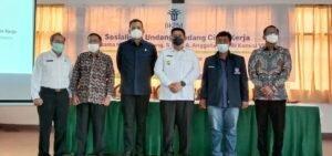 BKPM Sosialisasi Undang-Undang Cipta Kerja di Kabupaten Samosir