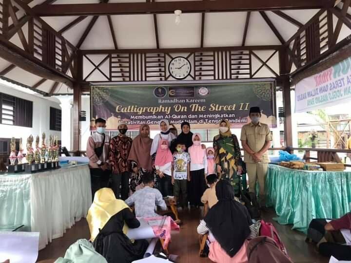 Safari Ramadan, Anggota DPRD Sumut Gusmiyadi Kunjungi Komunitas Kaligrafi