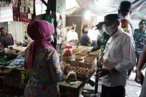 Bupati Asahan Bersama Forkopimda Sidak Beberapa Pasar Tradisonal Jelang Hari Raya Idul Fitri 1442 H