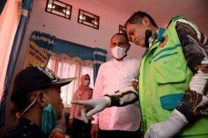 Antusias Masyarakat Paluta Serbu Layanan Kesehatan Gratis Pemprov Sumut