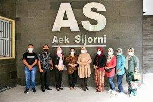 Ketua PKK Sumut Kunjungi Tempat Wisata Aek Sijorni Pastikan Protokol Kesehatan Diterapkan