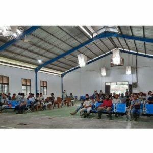 Pemkab Padang Lawas Utara Dukung BNN Sosialisasi P4GN dan Tes Urine Narkoba