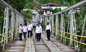 Medan Yang Sulit, Gubernur Edy Rahmayadi Rencanakan Benahi Kondisi Infrastruktur Nias Utara dan Barat