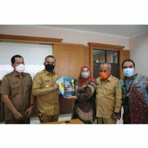 Pemkab Paluta Beraudiensi ke Lembaga Penjaminan Mutu Pendidikan Sumatera Utara