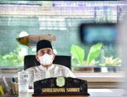 Evaluasi PPKM, Gubernur Edy Rahmayadi Sampaikan Penurunan Kasus Covid-19 Sumut