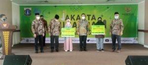 Jakarta Muharram Virtual Festival 2021, Baznas Bazis DKI Jakarta Beri Santunan Rp. 5,8 Milyar kepada 5.897 Anak Yatim dan Dhuafa