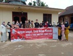 Relawan PMI Paluta Turun Ke Desa Sungai Durian