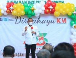 Dirgahayu KIM, Dirut PT KIM Ngurah Wirawan Luncurkan Fasilitas Pengolahan Limbah Terpadu